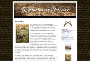 RevolutionaryDetective.com for Author Bob Mayers